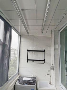 40平米小户型现代简约风格阳台效果图
