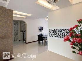 富裕型140平米复式现代简约风格走廊图片