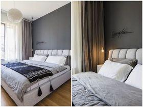 120平米三混搭风格卧室装修案例