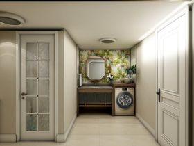 100平米四室两厅美式风格玄关装修图片大全