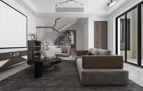 140平米别墅现代简约风格影音室装修案例