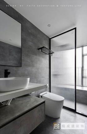 130平米四室两厅现代简约风格卫生间效果图