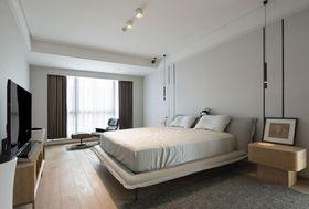 130平米三室两厅日式风格卧室装修案例