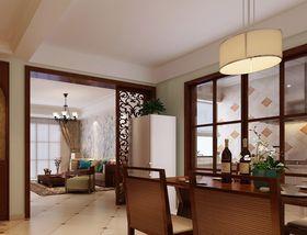 100平米中式风格餐厅设计图