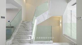 20万以上140平米别墅现代简约风格楼梯间图片大全