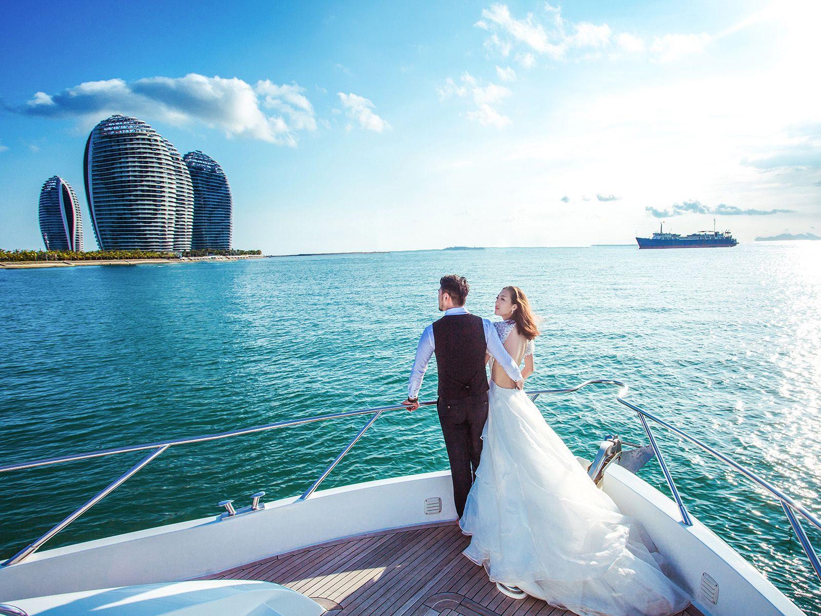 三亚韩国印爱婚纱摄影