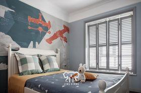 豪华型140平米四室两厅混搭风格儿童房装修效果图