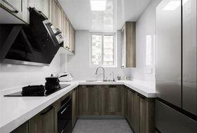 140平米三室一厅现代简约风格厨房图片