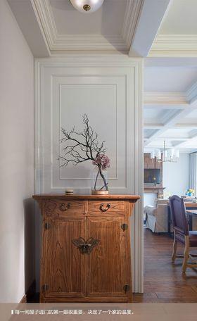 富裕型140平米四室两厅混搭风格玄关图片