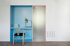 50平米公寓混搭风格玄关欣赏图