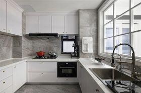 120平米三室兩廳美式風格廚房設計圖