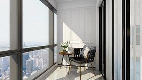 70平米北欧风格阳台设计图