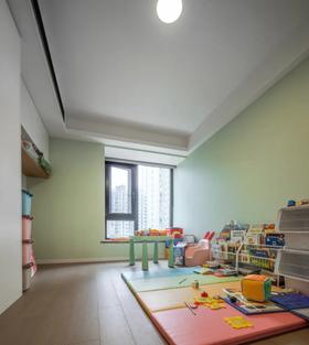 110平米三室兩廳現代簡約風格兒童房裝修案例