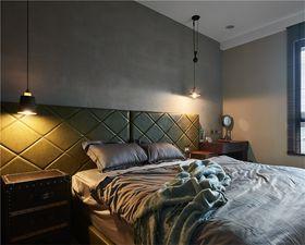 经济型140平米三室两厅混搭风格卧室图