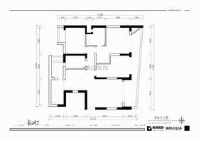 富裕型130平米三室两厅现代简约风格其他区域装修效果图