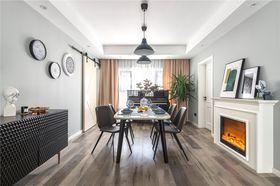 90平米三室一厅北欧风格客厅装修效果图