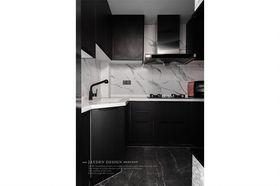 130平米复式现代简约风格厨房图