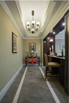 140平米别墅美式风格玄关欣赏图