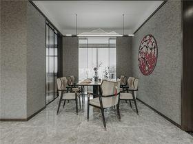 130平米三室两厅新古典风格餐厅装修案例
