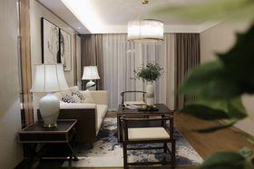 130平米四室两厅中式风格客厅欣赏图