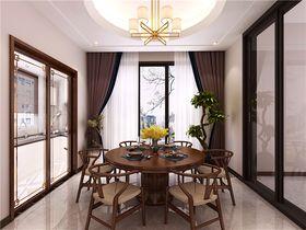 140平米復式中式風格餐廳圖片
