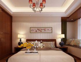 100平米中式风格卧室装修效果图