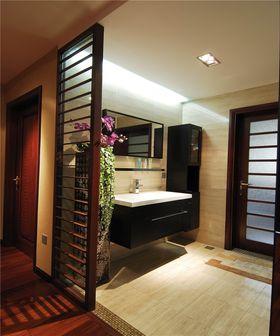 20万以上120平米三室两厅中式风格卫生间图片