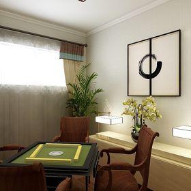 140平米別墅新古典風格影音室裝修圖片大全