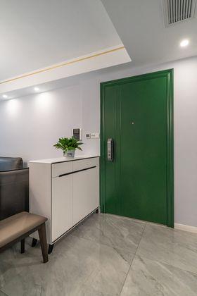 120平米三室两厅北欧风格玄关设计图