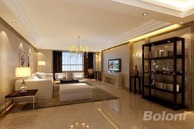 140平米三室兩廳現代簡約風格客廳裝修效果圖