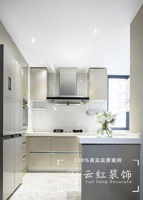 140平米复式现代简约风格厨房装修图片大全