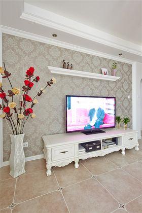 5-10万110平米三室两厅欧式风格客厅装修图片大全