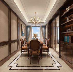 140平米复式新古典风格餐厅图片大全