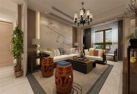 110平米三中式風格客廳圖