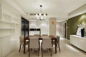 10-15万130平米三室一厅现代简约风格餐厅装修图片大全