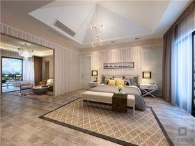15-20万110平米复式北欧风格卧室装修效果图