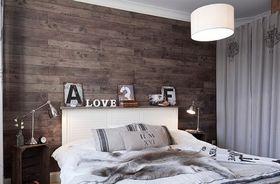 经济型80平米三室两厅北欧风格卧室装修案例