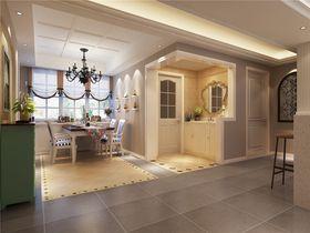 140平米三室两厅田园风格其他区域设计图