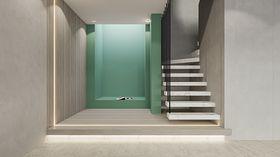 140平米別墅現代簡約風格樓梯間設計圖
