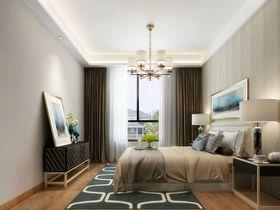 15-20万90平米三室两厅现代简约风格卧室效果图