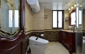 140平米三室两厅新古典风格卫生间装修案例