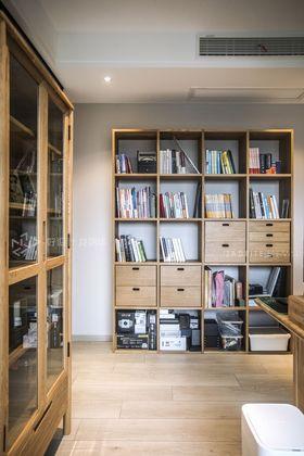 80平米北欧风格书房装修案例