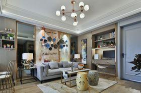 60平米公寓美式风格客厅设计图