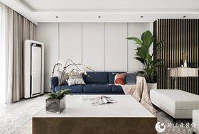 120平米現代簡約風格客廳效果圖