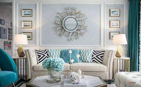 140平米三室一厅现代简约风格现代简约家具装修效果图