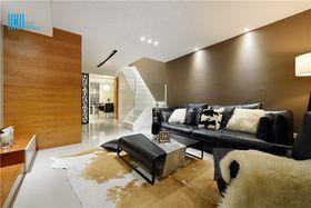 10-15万120平米复式现代简约风格客厅欣赏图