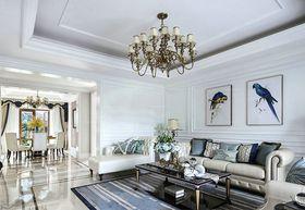 110平米三室兩廳法式風格客廳欣賞圖