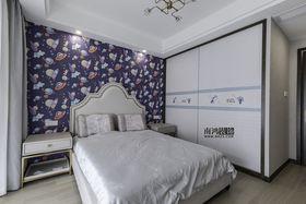 140平米复式中式风格儿童房图片