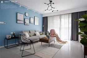 120平米三室两厅北欧风格客厅装修效果图