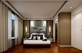 130平米三室两厅中式风格卧室欣赏图